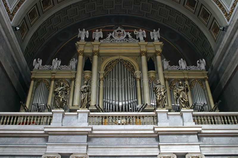 Giant organ royalty free stock photography