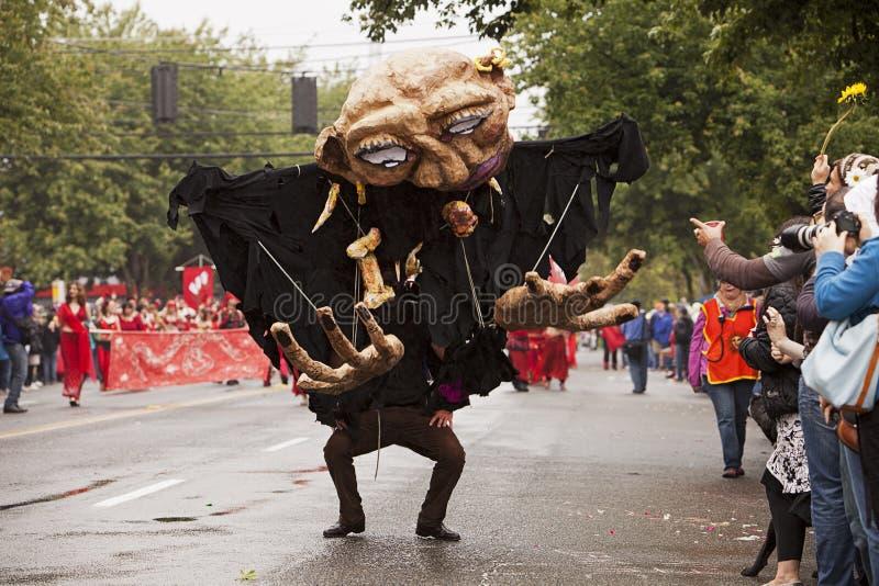 Three Fairy At 2007 Fremont Solstice Parade In Washington