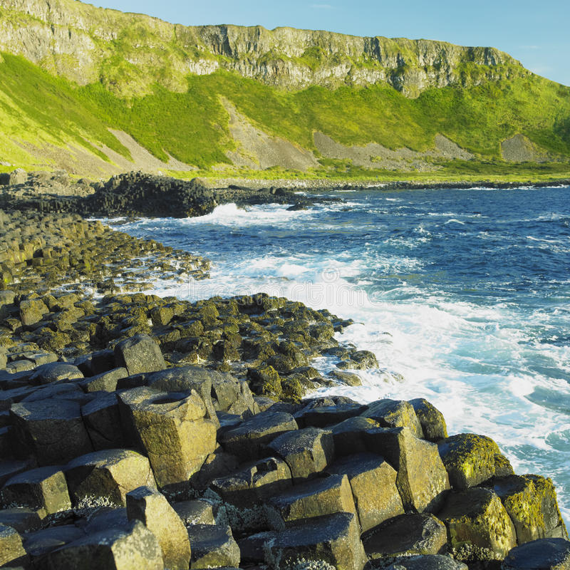 Download Giant's Causeway stock photo. Image of crags, heritage - 17007308
