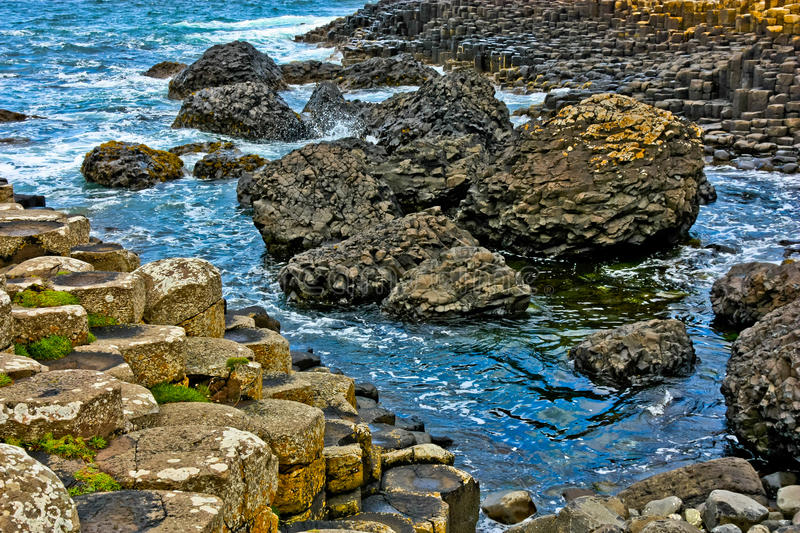 Download Giant's Causeway stock photo. Image of volcanic, united - 21181944