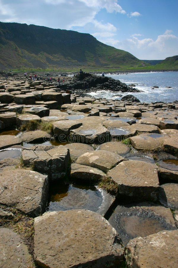 Giant's Causeway royalty free stock images