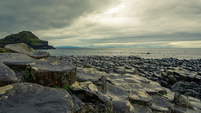 Giant's Causeway in Ireland royalty free stock photography