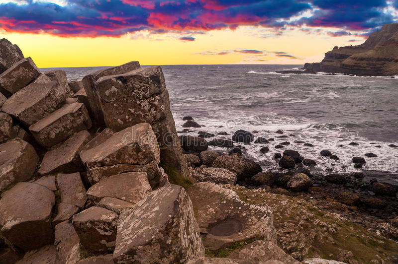 Giant's Causeway, Northern Ireland stock images