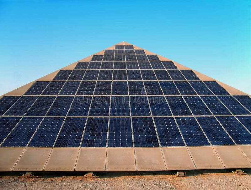 Solar Energy Pyramid Stock Images Download 8 Royalty