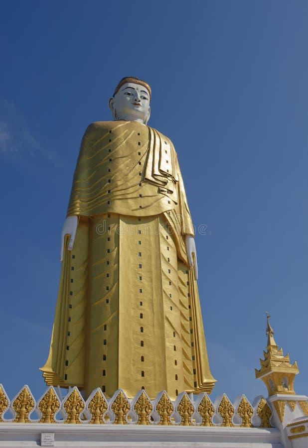 Free Giant Standing Buddha, Monywa, Myanmar Royalty Free Stock Photos - 17873658