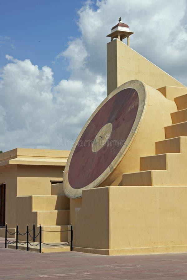 Giant Sundial stock photo