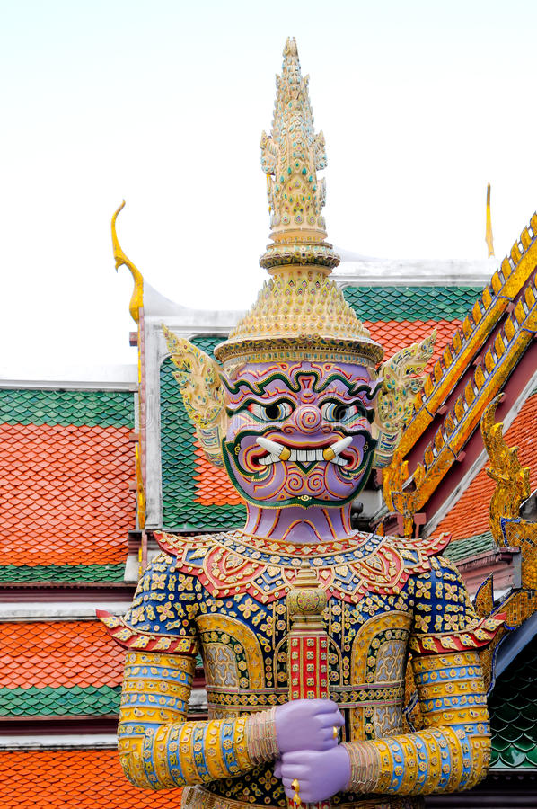 Giant Thailand Buddha Statue royalty free stock image