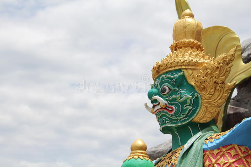 The Giant in Thailand royalty free stock image