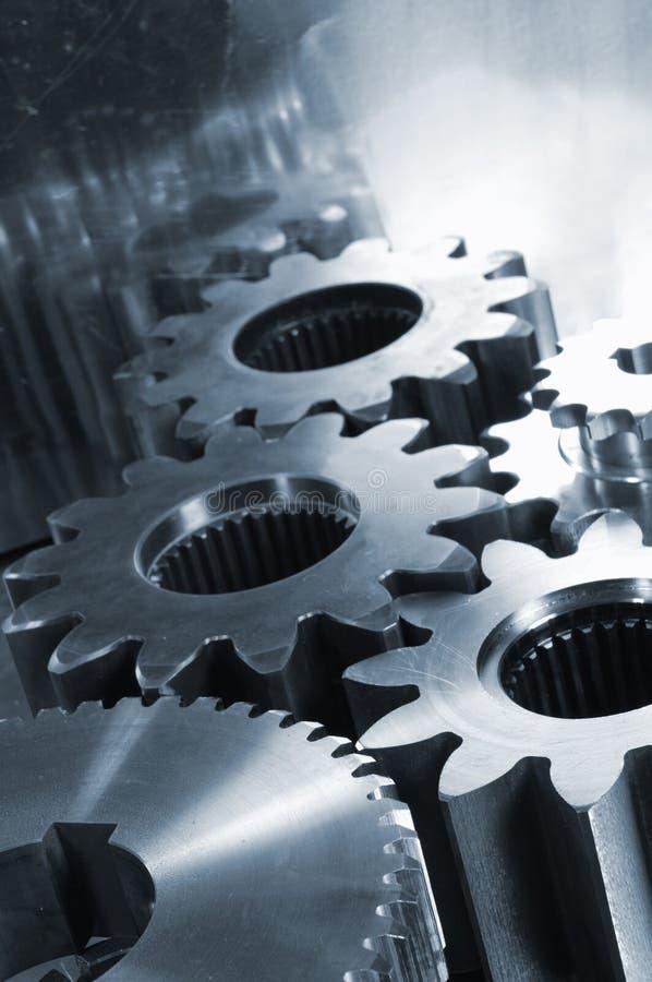 Giant titanium machinery royalty free stock photos