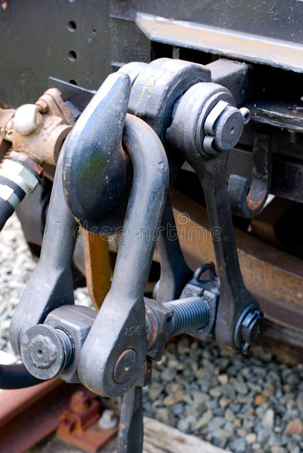 Giant train hook stock images