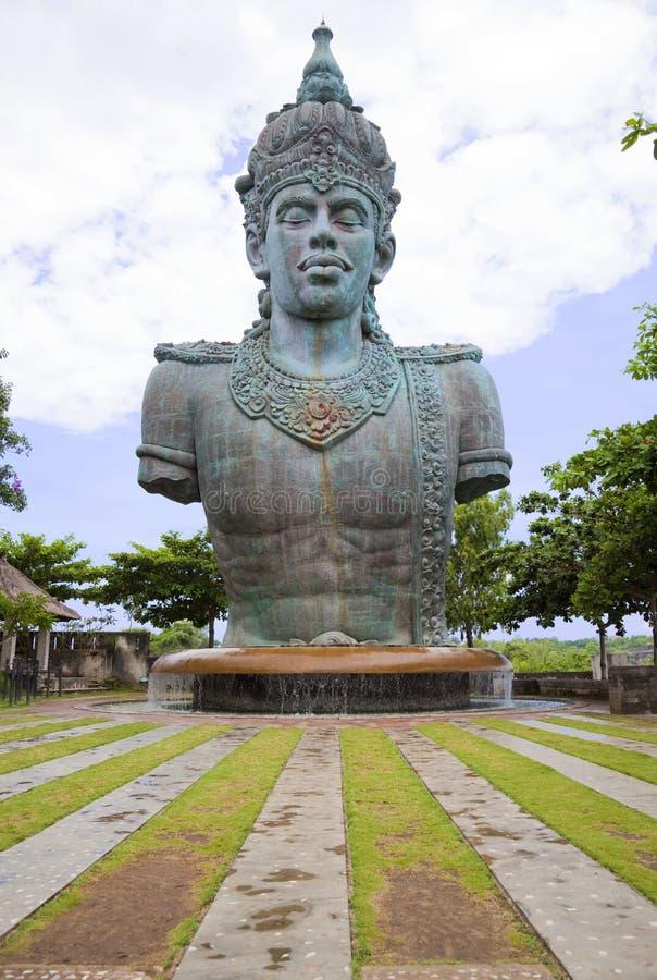 Giant Vishnu Statue at Bali, Indonesia royalty free stock photography