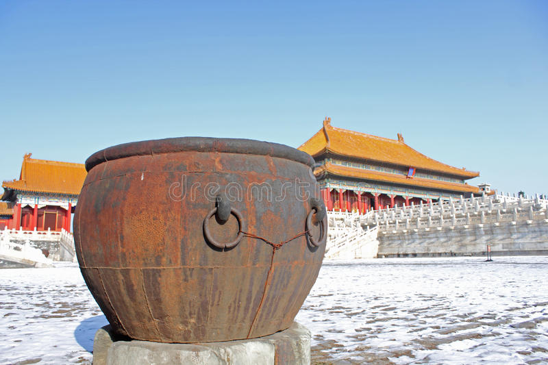 Download Giant water jar stock image. Image of imperial, gugong - 28332401