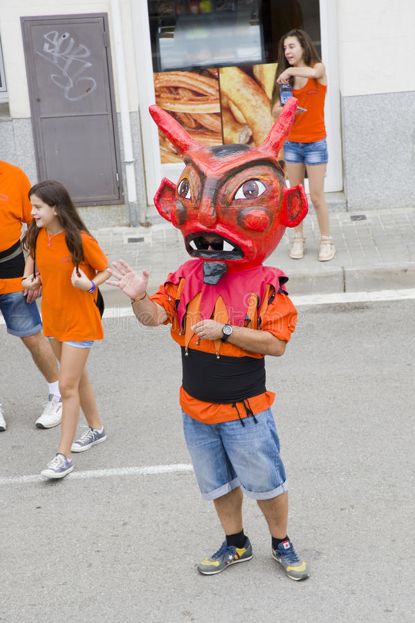 Giants и большой парад голов стоковые изображения