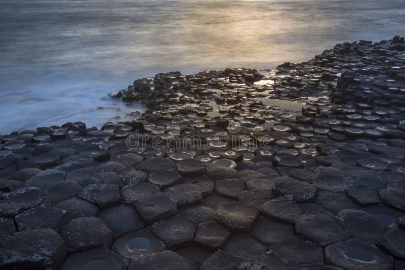 Giants Causeway - County Antrim - Northern Ireland royalty free stock photography