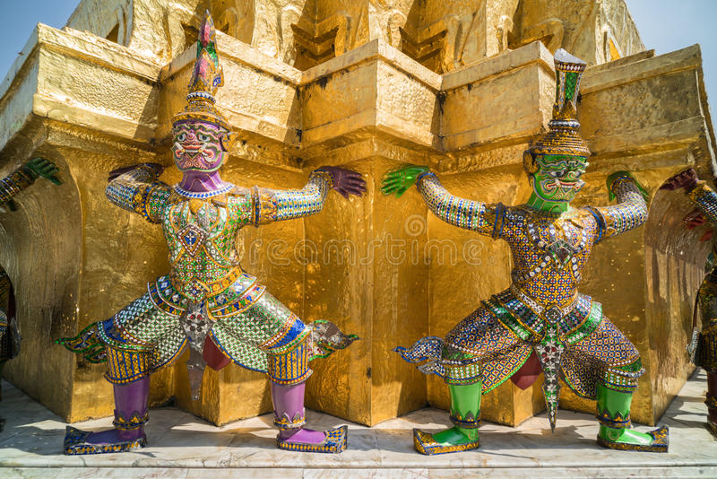 Giants coloré thaïlandais photographie stock