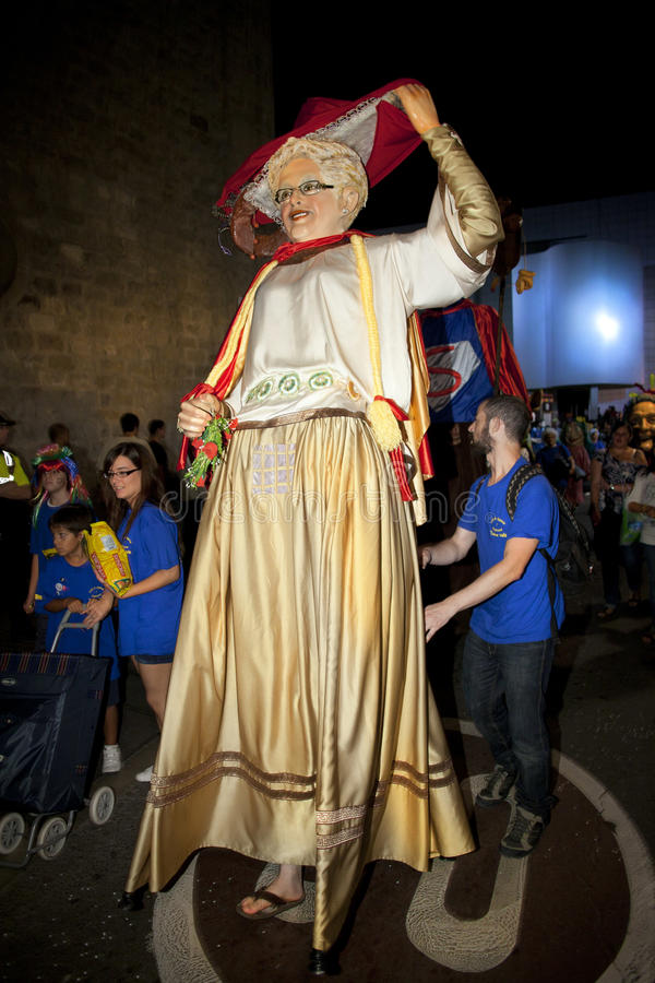 Download Giants folkloric fiesta editorial image. Image of festival - 21480950