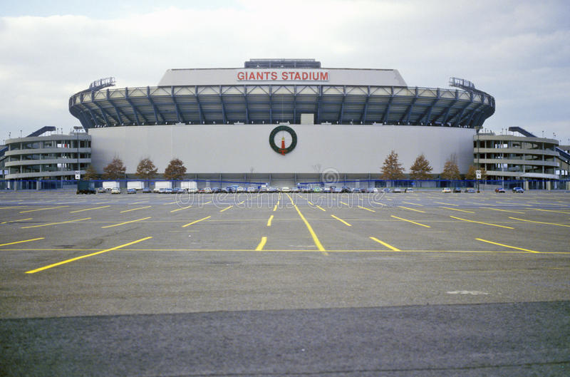 Giants Stadium in New Jersey royalty free stock photo