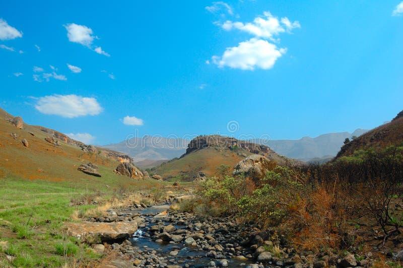 Giants ziehen sich Nationalpark zurück (Südafrika) lizenzfreie stockfotografie