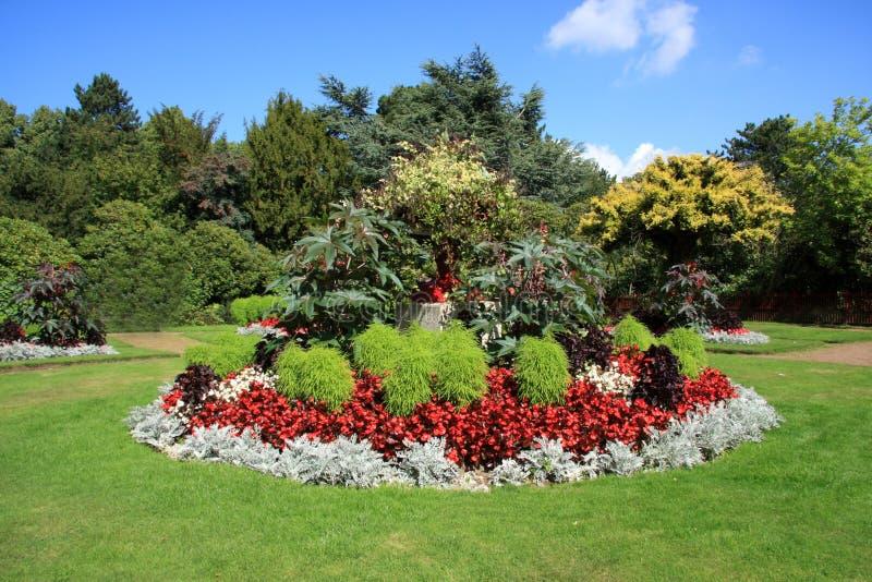 Giardini al castello di Wentworth immagini stock
