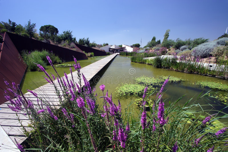 Giardini botanici fotografie stock