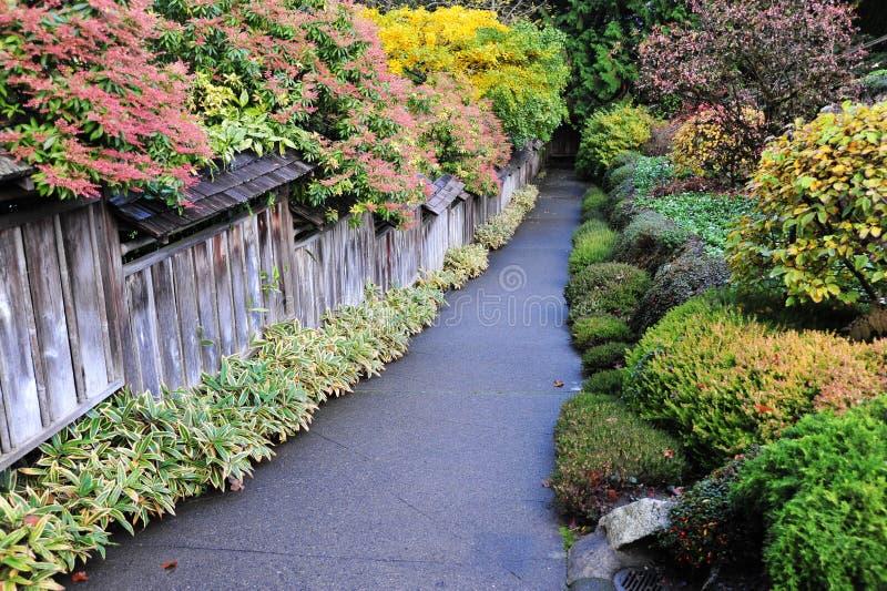 Download Giardini Del Butchart Di Autunno Immagine Stock - Immagine di autunno, colori: 7310457