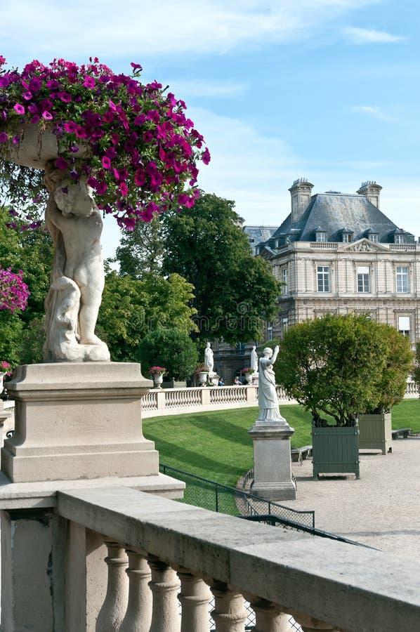 Giardini del Lussemburgo fotografia stock libera da diritti