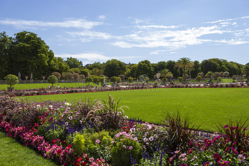 Giardini del Lussemburgo, Parigi, Francia immagine stock