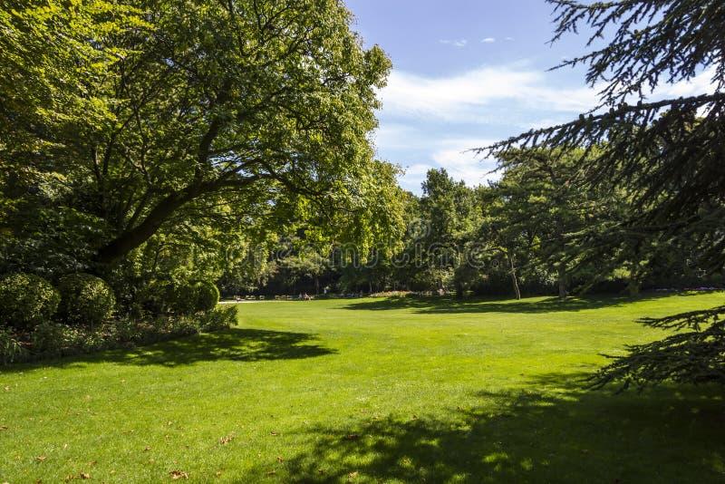 Giardini del Lussemburgo, Parigi, Francia fotografia stock