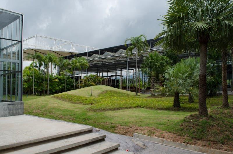 Giardini di architettura immagini stock libere da diritti
