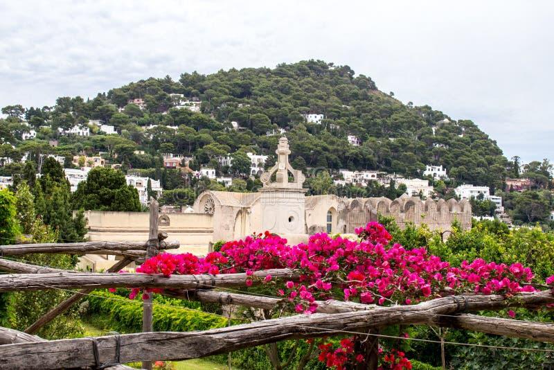 Giardini di Augusto in Capri, Italy stock images