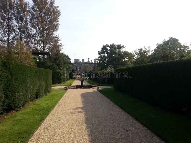 Giardini di Beaulieu fotografia stock