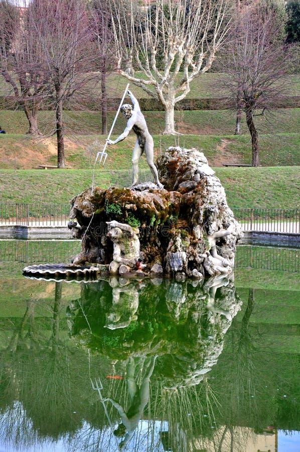 Giardini di Boboli a Firenze, Italia fotografia stock libera da diritti