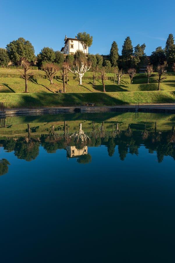 Giardini di Boboli - Florence Tuscany Italy immagine stock libera da diritti