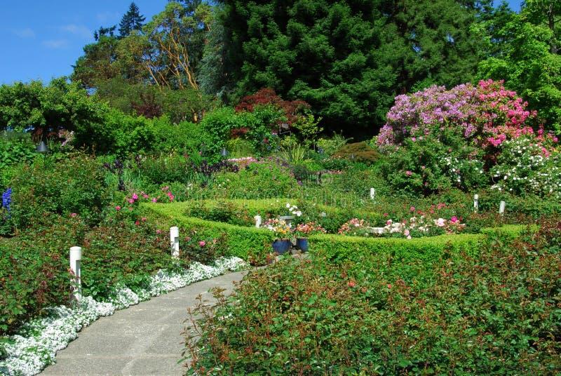 Giardini di Butchart immagini stock