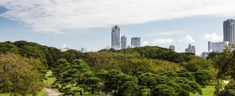 Giardini Di Hamarikyu Tokyo Fotografia Stock Immagine