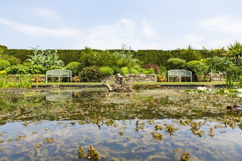 Giardini di Hever fotografia stock