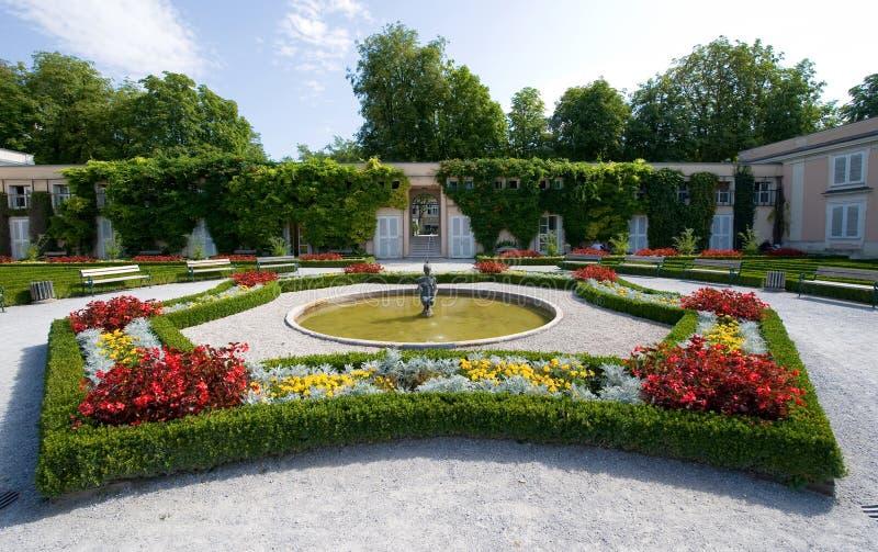 Giardini di Mirabell fotografia stock libera da diritti
