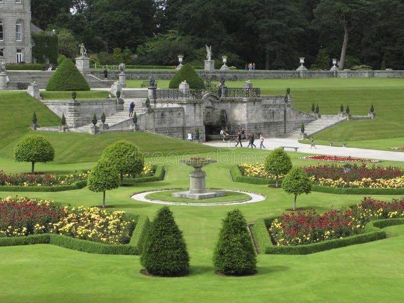 Giardini di Powerscourt fotografia stock