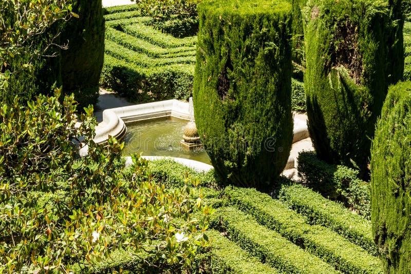 Download Giardini di Sabatini fotografia stock. Immagine di facade - 56889318