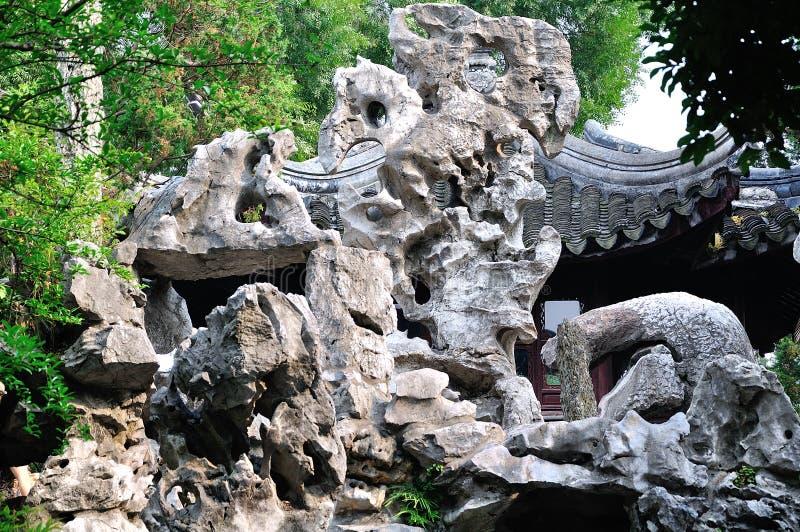 Giardini di Suzhou fotografia stock