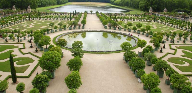 Giardini di Versailles immagini stock libere da diritti