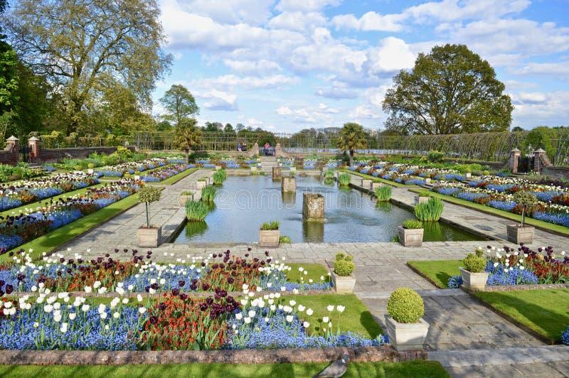 Giardini Londra del palazzo di Kensington immagine stock libera da diritti