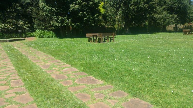 Giardini meravigliosi dal Madera fotografia stock