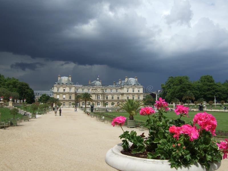 Giardini Parigi Francia del Lussemburgo fotografia stock