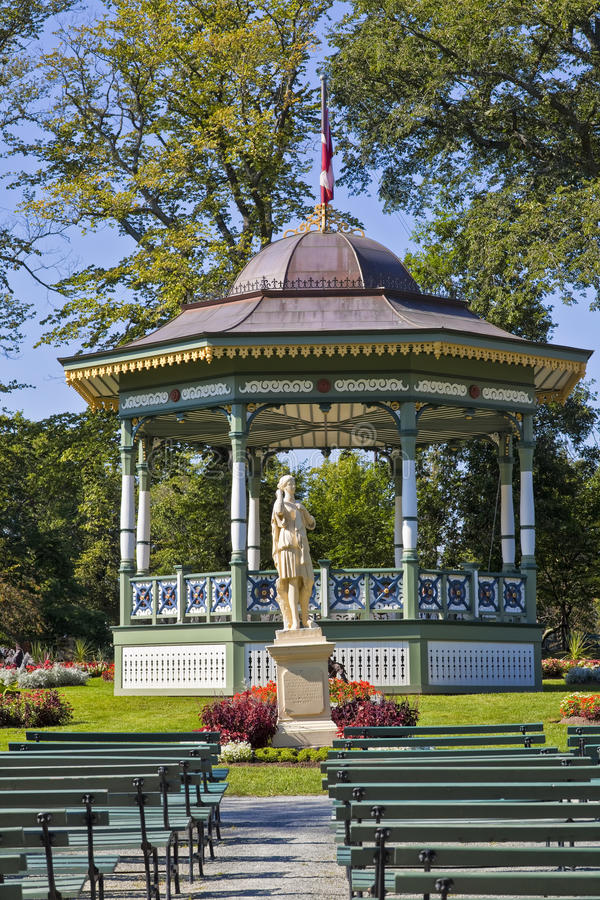 Giardini pubblici di Halifax immagine stock