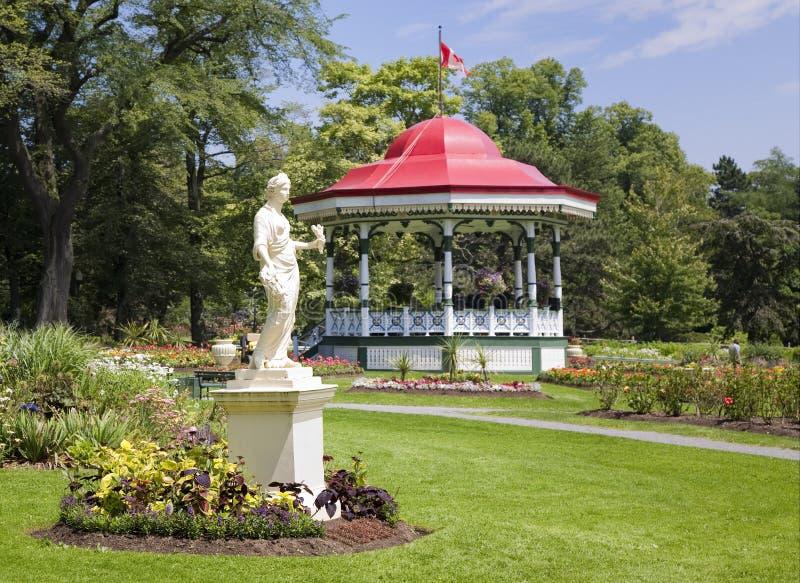 Giardini pubblici, Halifax, Nuova Scozia fotografia stock
