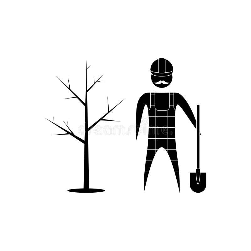 giardiniere illustrazione vettoriale
