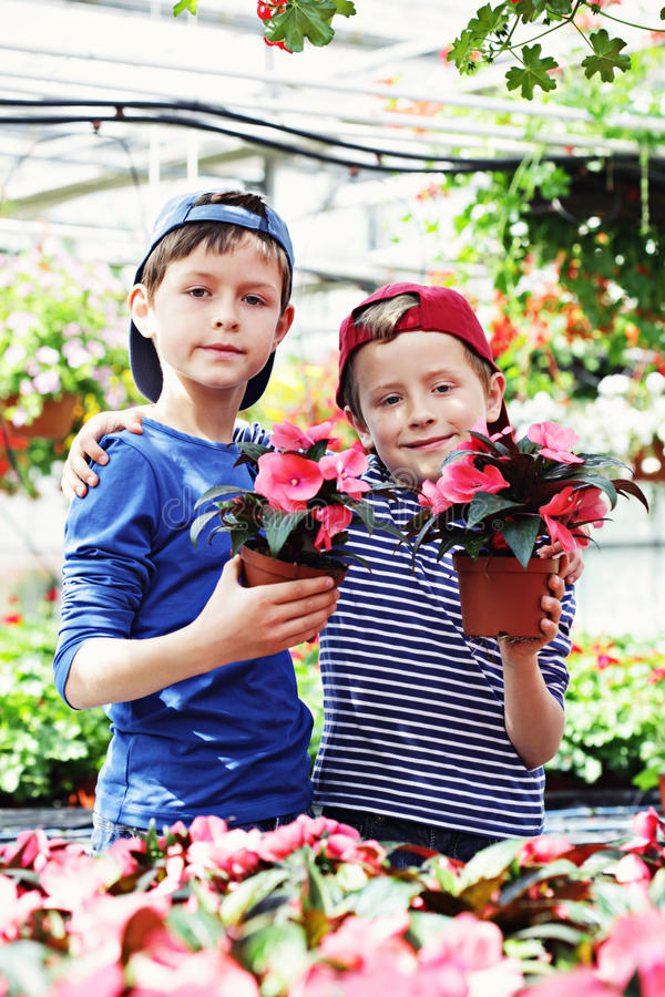 Giardinieri fotografie stock libere da diritti