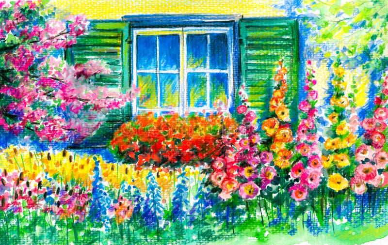 Giardino royalty illustrazione gratis