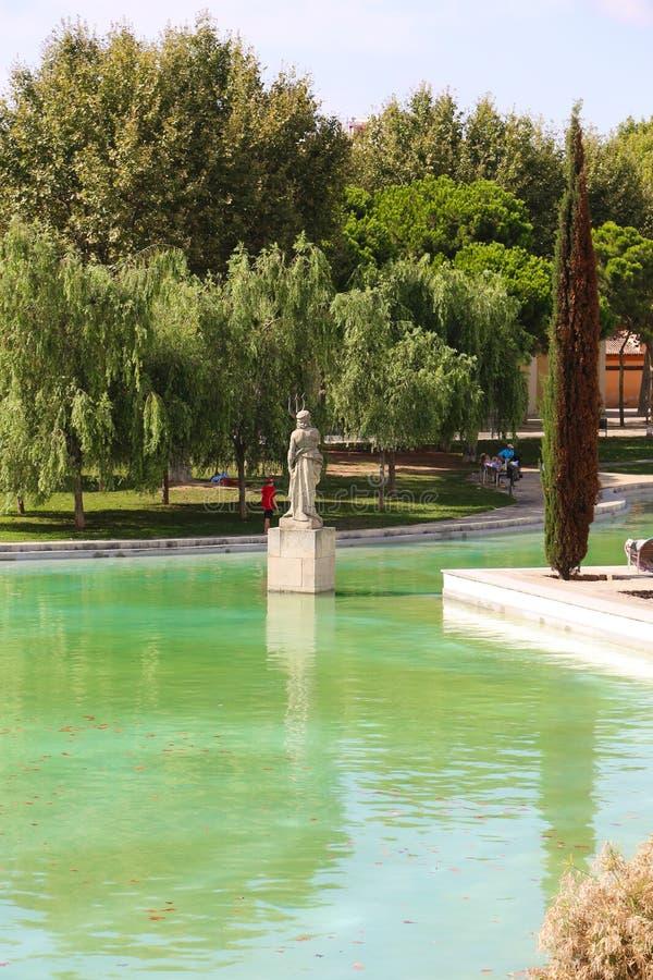 Giardino - Barcellona immagini stock libere da diritti